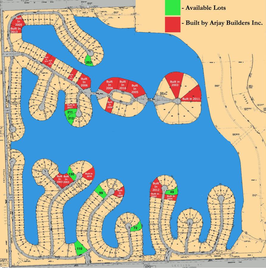 Bennington Lake Lots
