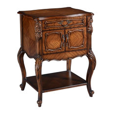 Side Table Louis XV Rococo Hand Carved Mahogany Naturally Bookmatched