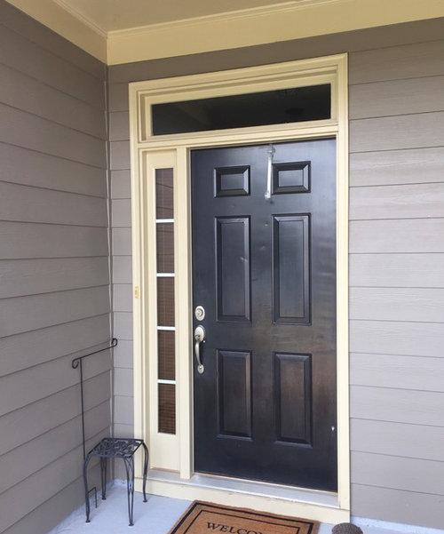 Door Sidelight Transom Brickmould