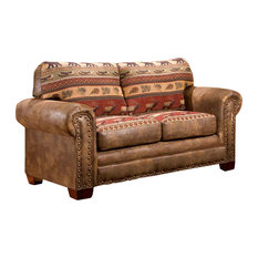 American Furniture Clics Sierra Lodge Love Seat Loveseats