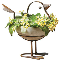 Eclectic Outdoor Pots And Planters by Universal Direct Brands