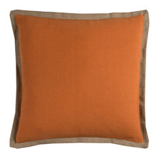 Rizzy Home PILT11028OR002222 Solid Decorative Pillow, Orange