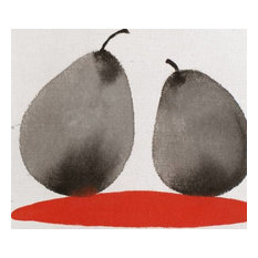 """""""Two Pears"""" By Yeachin Tsai, 8""""x10"""" Fine Art Paper Print, Limited Edition of 100"""