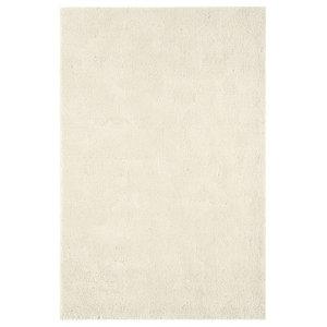 Aran Ivory Rectangle Plain/Nearly Plain Rug 160x230cm