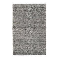 Red Fort Handwoven Floor Rug, Steel, 140x200 cm