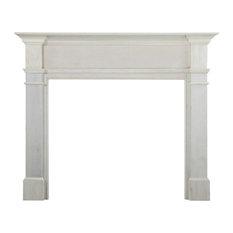 """63.5"""" Unfinished Wood Mantel Shelf"""