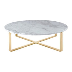 marble round coffee tables | houzz