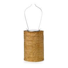 Soji Stella Cylinder Lantern, Bronze