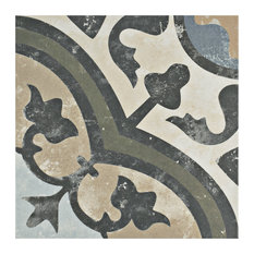 """SomerTile - 9.75""""x9.75"""" Concept Porcelain Floor and Wall Tiles, Set of 16, Carthusian - Wall and Floor Tile"""