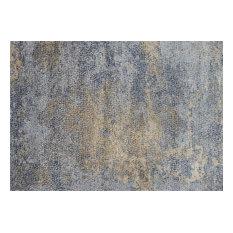 """Loloi Patina Pj-05 Organic/Abstract Rug, Ocean/Gold, 9'6""""x13'0"""""""