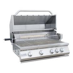 KoKoMo Grills - KoKoMo Grills - 4 Burner Built In Grill, Liquid Propane - Outdoor Grills