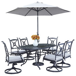 Trend Traditional Outdoor Dining Sets by Home Styles Furniture