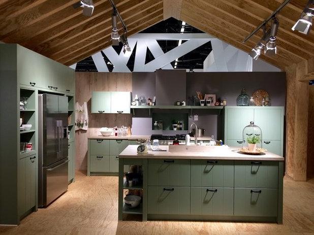 Küchentrends 2015: Matt, stark, wohnlich und natürlich