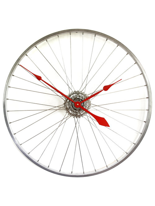 Bicycle Wheel Clocks