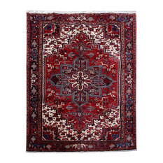 Consigned, Persian Rug, 8'x10', Handmade Wool Heriz