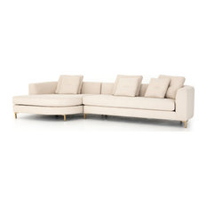 Glenna Left Arm 2-Piece Sectional with Round Chaise