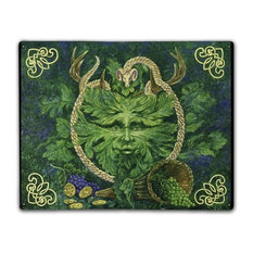 Green Man Cernunnos, Classic Metal Sign
