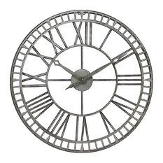 Metalworks Steel Outdoor Wall Clock
