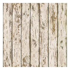 Weathered Brown Wood Wallpaper, Bolt
