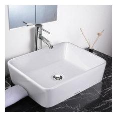 Bathroom Sinks Houzz white porcelain bathroom sinks | houzz