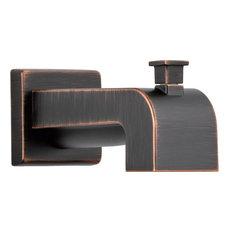 Delta   Tub Spout Pull Up Diverter, Venetian Bronze   Bathtub Faucets