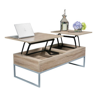 Double Lift Top Coffee Table Coffee Tables Houzz