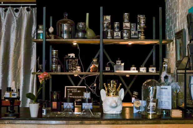 Industrial Home Bar by STRUKTR Studios Photography