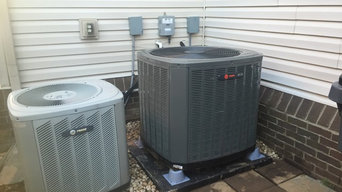 Trane Heat Pump system Installation