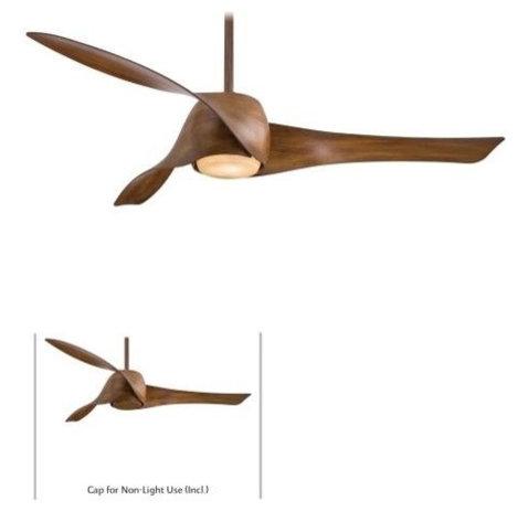 Modern dark koa wood ceiling fan ceiling fans by kris gorton design modern dark koa wood ceiling fan aloadofball Images