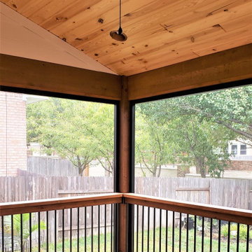 SPACIOUS DECK & SCREENED PORCH IN ROUND ROCK TX