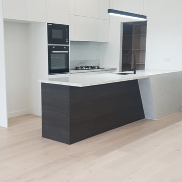Kitchen, bathroom and floorboard renovation