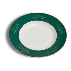 Concours d'Elegance Pasta Bowl Set of 2, British Racing Green