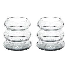 Dimond Smoke Ring Votive, Set of 2, Gray Bubble