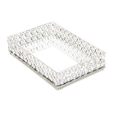 Accent Plus - Shimmer Rectangular Jeweled Tray - Jewelry Boxes and Organizers