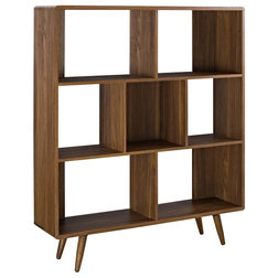 Midcentury Bookcases by Modway