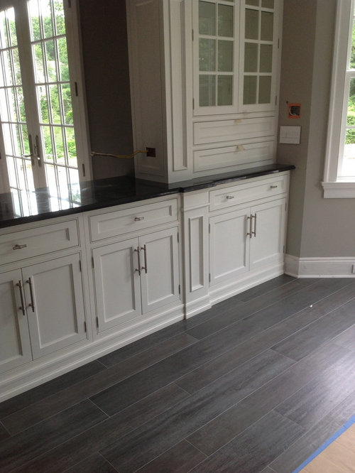 SaveEmail - Gray Wood Look Tile Houzz