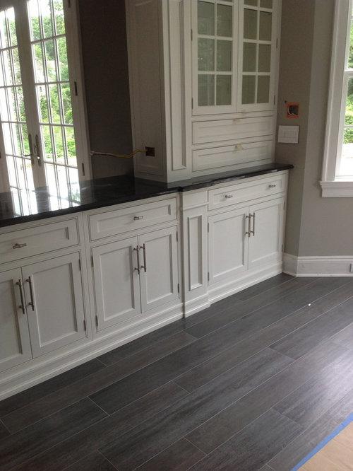 SaveEmail - Grey Wood Tile Floor Houzz