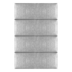 Upholstered Wall Panels By VANT Upholstered Headboards, Pearl Silver, 30''