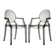 Modway Casper Dining Armchairs Set of 2 EEI-905-SMK