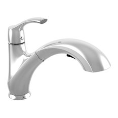 Keeney - Belanger Faucet With Swivel Pull-Out Spout and Integrated Hand Spray - Kitchen Faucets