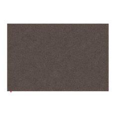 Liv Brown Hall Rug, Orange Stitching, 170x240 cm