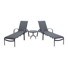 Santa Fe 3 Piece Chaise Lounge Set