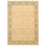 Unique Loom - Unique Loom Cream Edinburgh Aurinia 7' 0 x 10' 0 Area Rug - The classic look of the Edinburgh Collection is sure to lend a dignified atmosphere to your home. With an array of colors and patterns to choose from, there�s a rug to suit almost any taste in this collection. This Edinburgh rug will tie your home�s decor together with class and amazing style.