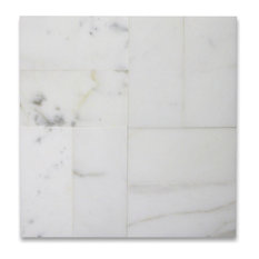 "3""x6"" Calacatta Gold Subway Tile Polished Italian Calcutta Marble, Set of 1600"