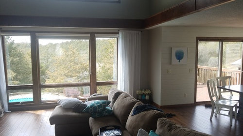 Same Drapes Or Different Open Floor Plan