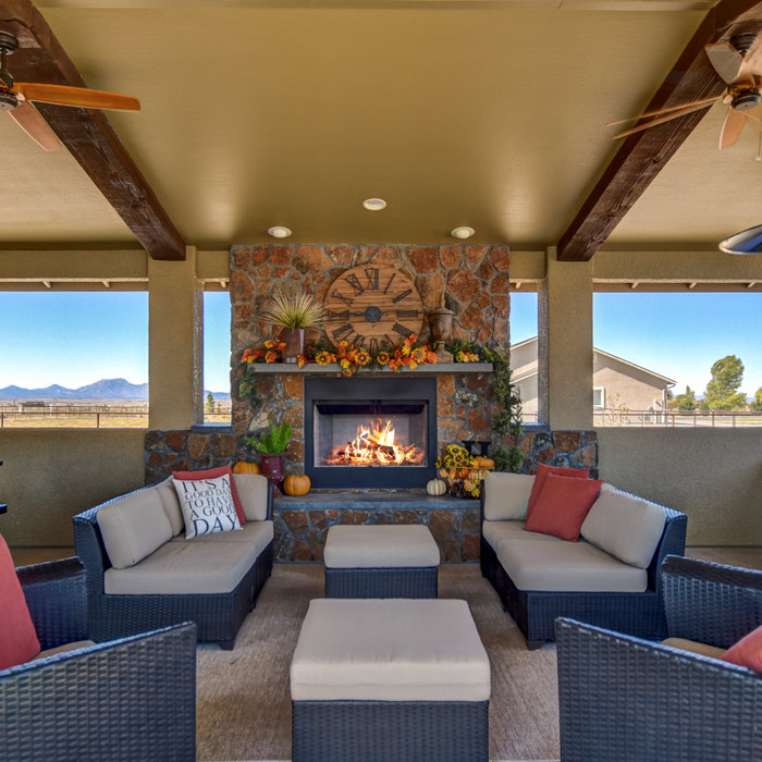 Outdoor Living Space and Entertainment Room