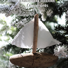 Driftwood Holiday Decorations