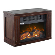 "9"" Mini Fireplace Electric Heater 750Watt"