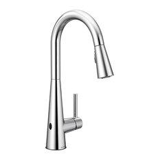 Moen Sleek Chrome One-Handle Pulldown Kitchen Faucet