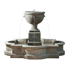 Navonna Outdoor Water Fountain, Alpine Stone